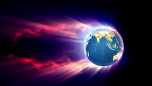 stock-footage-planet-earth-with-fire-trail-loop-able