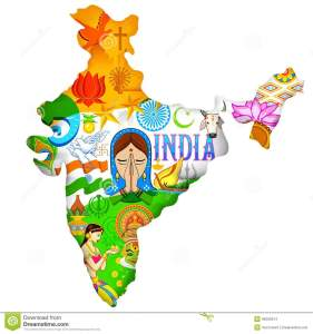 culture-india-illustration-indian-map-showing-36200374
