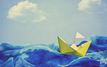 seas artwork paper boat 1920x1200 wallpaper_www.vehiclehi.com_60